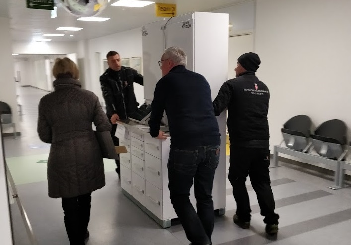 Another Smart Medicine Cabinet to Denmark