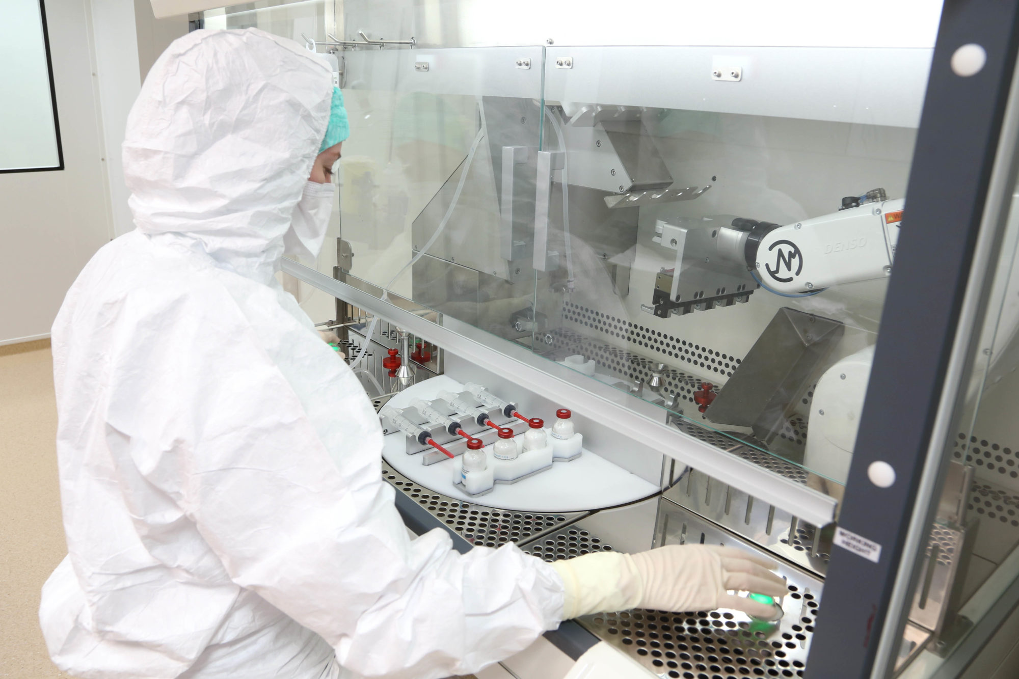 Robot Begins Mass Compounding of Antibiotic Doses