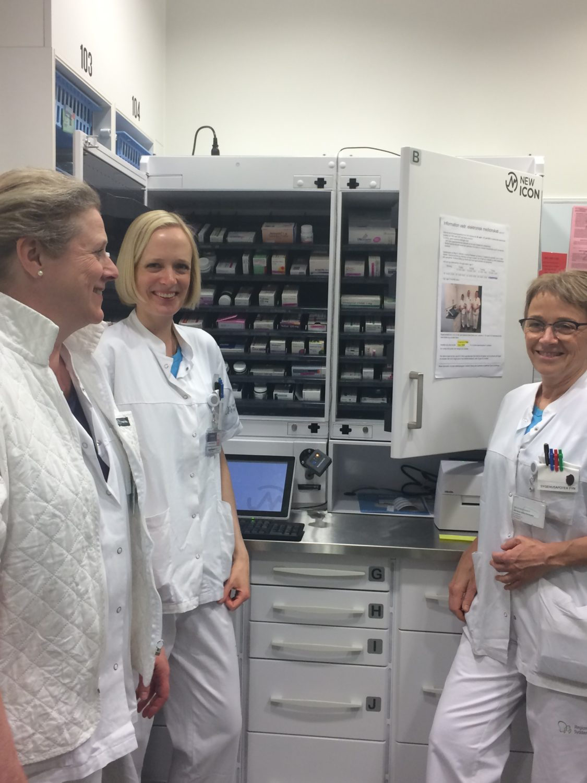 Pressemeddelelse: Elektronisk medicinskab forbedrer patientsikkerheden på Odense Universitetshospital