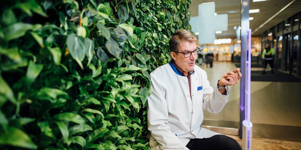 "The Vantaanportti pharmacy chose additional technology to accompany its ""Duck"""