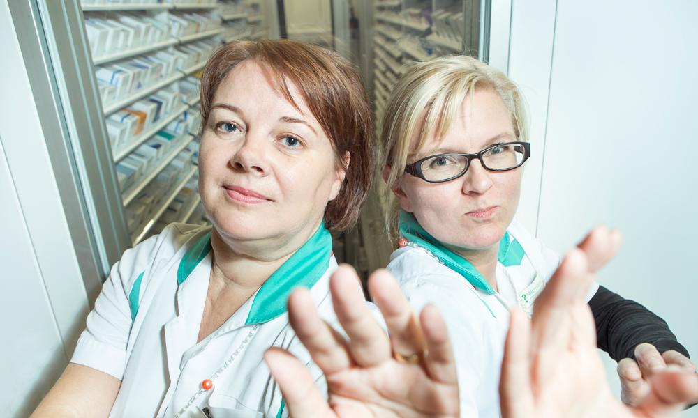 Storage Robot in Viinikka Pharmacy Also Prevents Burglary