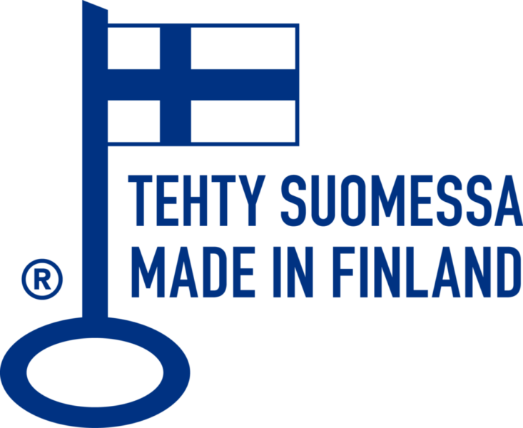 The Key Flag Symbol for Finnish Work